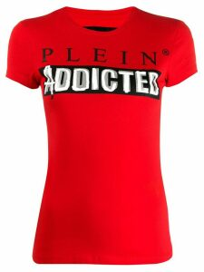 Philipp Plein logo T-shirt - Red