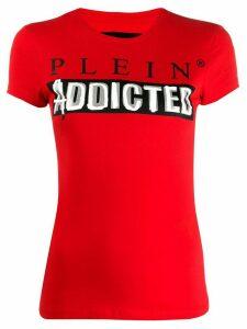 Philipp Plein logo T-shirt - Red