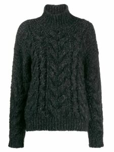 IRO chunky cable-knit jumper - Grey