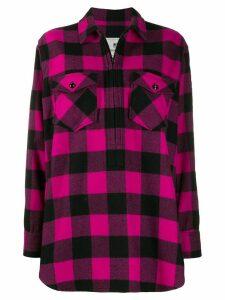 Woolrich buffalo print shirt - PINK