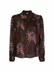 A.L.C. floral long-sleeve blouse - Multicolour
