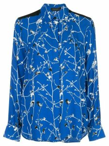 Rag & Bone Therese floral print blouse - Blue