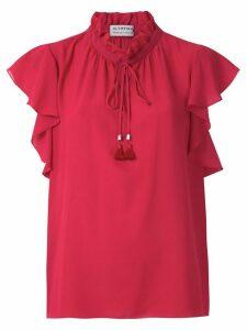 Olympiah Juli ruffle blouse - Red