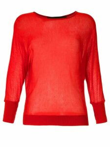 Gloria Coelho knit blouse - Red