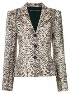 Gloria Coelho leopard print blazer - Multicolour