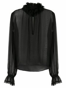 Andrea Bogosian Petrusa Couture silk blouse - Black