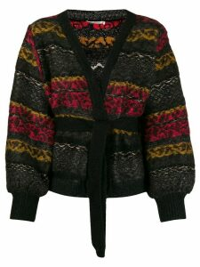 Mes Demoiselles Jean Paul cardigan - Black