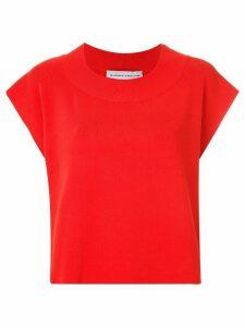 Gloria Coelho knit blouse - Red