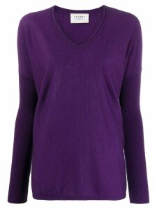 Snobby Sheep Sophia loose-fit jumper - Purple