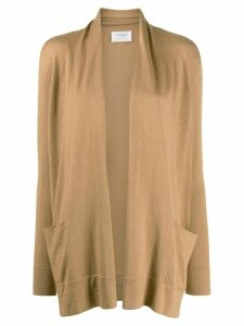 Snobby Sheep loose-fit open front cardigan - NEUTRALS