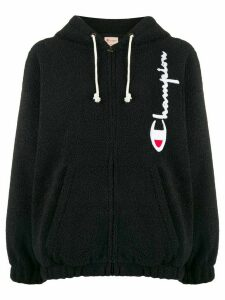 Champion Big Script logo hooded sweatshirt - Black