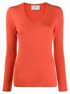 Snobby Sheep Brigitte slim-fit jumper - Orange