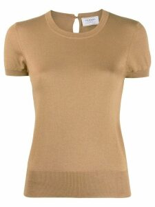 Snobby Sheep Audrey slim-fit knitted top - Brown