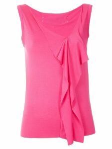 Gloria Coelho ruffle sleeves blouse - PINK