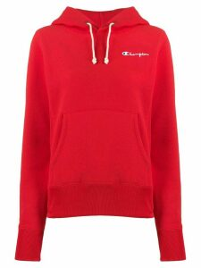 Champion Script logo hooded sweatshirt - Red