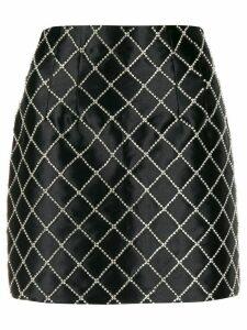 Giuseppe Di Morabito embellished a-line mini skirt - Black