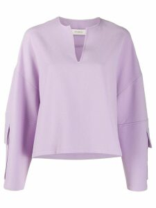 Áeron Nita oversized sweatshirt - PURPLE