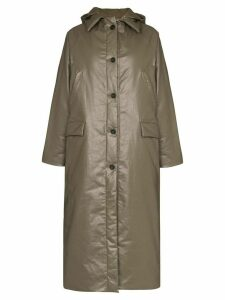 Kassl Editions maxi puffer jacket - Green