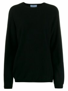 Oyuna knitted Travel jumper - Black