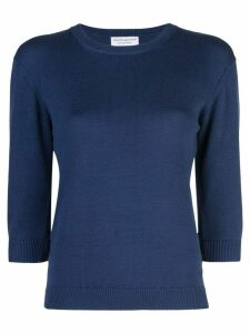 Alexandra Golovanoff fitted sweater - Blue