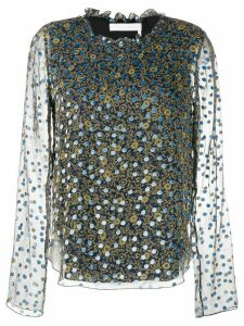 See By Chloé floral print blouse - Blue