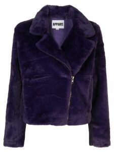 Apparis Tukio faux fur jacket - PURPLE