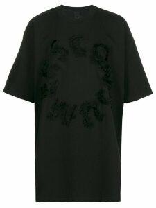 Camper Lab x Bernhard Willhelm oversized T-shirt - Black