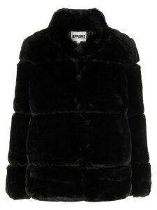 Apparis Sarah faux fur coat - Black