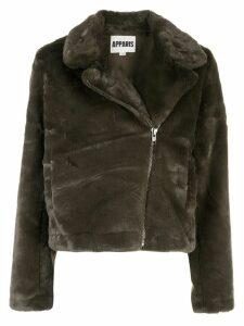 Apparis Tukio faux fur jacket - Green