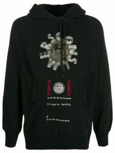 Camper Lab x Bernhard Willhelm printed hoodie - Black