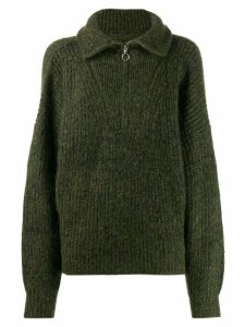 Isabel Marant Étoile Myclan high-neck sweater - Brown