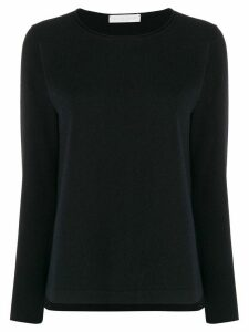 Fabiana Filippi round neck slim-fit jumper - Blue