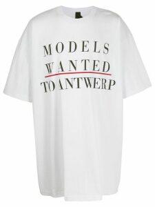 Camper Lab x Bernhard Willhelm oversized T-shirt - White