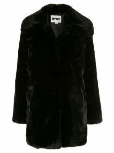 Apparis Alix faux-fur coat - Black