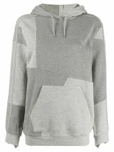 adidas by Danielle Cathari panelled hoodie - Grey