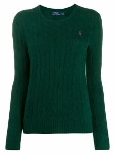 Polo Ralph Lauren cable knit jumper - Green