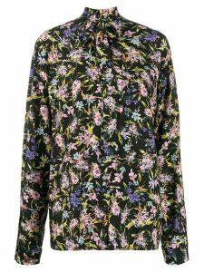 Patrizia Pepe floral print shirt - Black