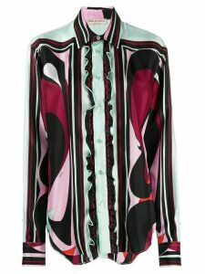 Emilio Pucci geometric print shirt - PINK