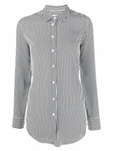 Equipment striped button shirt - Black