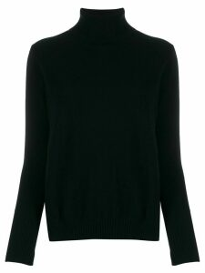 Allude turtleneck jumper - Black