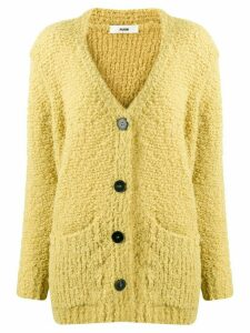 Roberto Collina buttoned knitted cardigan - Yellow