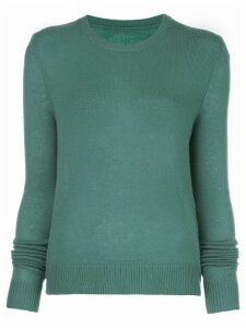 The Elder Statesman crew-neck cashmere jumper - Green