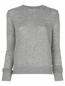 The Elder Statesman crew-neck cashmere jumper - Grey