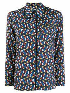 La Doublej dragonfly print shirt - Blue