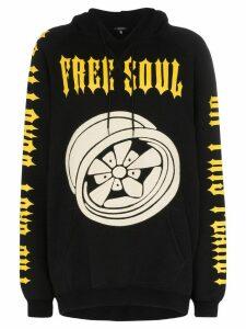 R13 x Alison Mosshart Free Soul hooded sweatshirt - Black