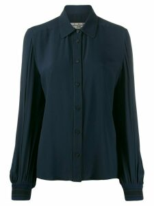 Golden Goose Isako long-sleeved buttoned shirt - Blue