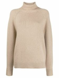 Brunello Cucinelli cable knit jumper - NEUTRALS