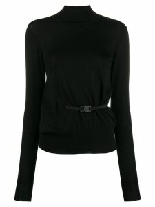 1017 ALYX 9SM buckle detail jumper - Black