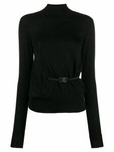 1017 ALYX 9SM buckle detail jumper - Black