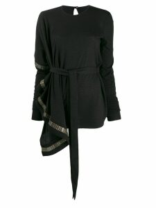 Rick Owens Lilies chain trim jumper - Black